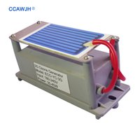 Le fabricant d'origine sur la vente 110V / 220V 3.5g céramique générateur d'ozone générateur 1pc commence rapidement désodorisation Euro / US Plug + livraison gratuite