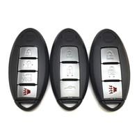 Nissan Araba Akıllı Uzaktan Kumanda için Yedek Anahtar Kılıf Anahtar Kabuk Anahtar Kapak FOB