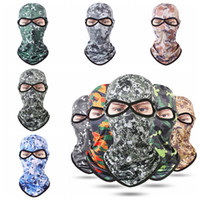 13 Styles Camouflage Full Mask CS Tactical Bike Bicycle Mask...
