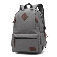 Brand School Bags For Teenagers Canvas Backpack Fashion Lapt...