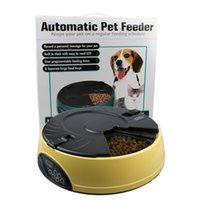 3Colors Automatic Pet Feeder 6 Meal LCD Digital Automatic Pe...
