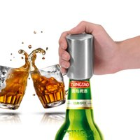 Stainless Steel Beer Bottle Opener Automatic Kitchen Accesso...