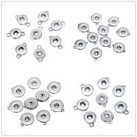 Noosa Chunks 12mm 18mm Ginger Snap Base Base Sieraden Accessoires Voor DIY Snaps Button Ketting Armband Oorbellen Sieraden Accessoire