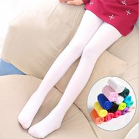 Children Velvet Leggings Dance Pants Socks 12 Color Kids Gir...