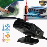 Nova alta qualidade 2in1 150w carro aquecimento refrigerar ventilador de defroter demister 12v secador winshield frete grátis