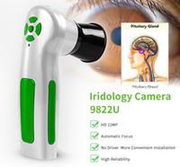 Sistema di diagnosi degli occhi professionale da 12.0 MP di ultima generazione digitale per iridologia Analizzatore di iris irisoscopio