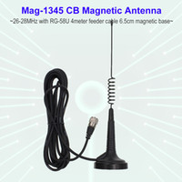 Mag 1345 26MHz 27MHz CB Radio Antenna With 4 Meters Cable Magnetic