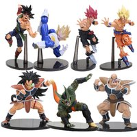 14-22CM Dragon ball Z SCultures GRANDE Ressurreição De F Styling Deus Super Saiyajin Goku Bardock Dragon Ball Z PVC action figure