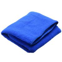 10 stück 30x70cm ultra-faser Autowäsche Handtuch Weiche dünne Tuch Absorbierende Duster Microfaser Auto Reinigung für Automotive Haushalt blau