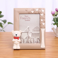 Korean Style 1PC Baby Photo Frame Multi Shape Frame For Picture Wedding Gift Cute Desktop Photo Frame For Home marcos para fotos
