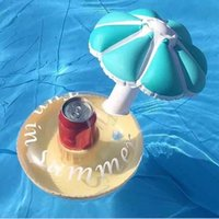 2018 Inflatable Drink Holders Pool Mermaid Tail Cup Holder C...