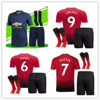 2018 19 Manchester United SOCCER JERSEY Adult kits + SOCKS PO...