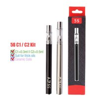 Ceramic Coil Disposable Vape Pens 350 mAh Disposal Pen Vape ...