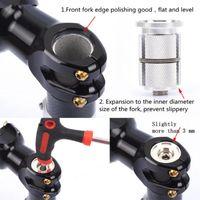 Cap fones de bicicleta de carbono de suspensão Núcleo Fork Top Mountain Road Bike Fork Expandir Headsets Spacer Núcleo Screw Parafuso Acessórios