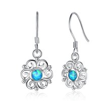 Top Selling Fashion 925 Sterling Silver Flower Design Earrin...