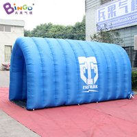 Free Delivery Blue color tent type Inflatable straight chann...