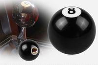 Manípulo de mudança de bola preto 8 para adaptadores manuais do manípulo de mudança de marchas de curto alcance
