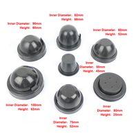 1ペアHID / LEDヘッドライトハウジングダストカバーゴム防水防塵ヘッドランプシールダストキャップカースタイリングアクセサリー
