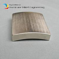 1 пакет класса N35H ветротурбины NdFeB дуги сегмент OR80xIR70xW48xL50 мм большой мотор магнит для генераторов неодимовый постоянный магнит Ротора