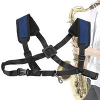 Регулируемый мягкий саксофон плечевой ремень для саксофона для альт-музыки