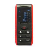 40 M 80 M 100 M Handheld Laser Digital Rangefinder Medidor de Distância Indicação de Ângulo Faixa de Área Localizador de Volume de Fita Métrica Tester
