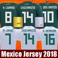 TOP Thailand MEXICO Soccer Jersey 2018 world cup CHICHARITO ...