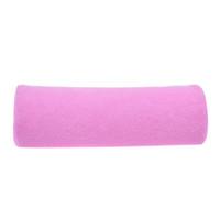Kleines weiches Nagel-Kunst-Handruhekissen-Nagel-Kissen-Kissen-Salon-Ausrüstung für Nagel-Kunst-Schönheits-Salon-Rosa