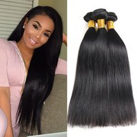 Brazilian Human Hair Bundles Straight 3 Bundles Virgin Human...