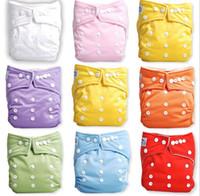 20 шт./лот Babyland окружающей среды детские подгузники красочные кнопки Оснастки детские подгузники цена продажи не включая вставки