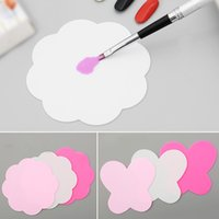 2pc Flower Butterfly Nail Art Gel Polish Palette Silicone Wa...