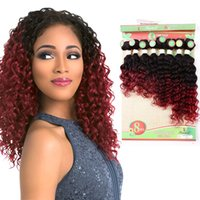 9bc704bb12 Wholesale human hair weave packs for sale - 8 inch Deep Wave Bundles Sew in  Hair