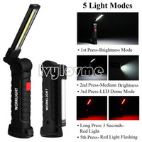 5Mode Tactical LED Flashlights torch light 1x18650 battery w...