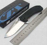 사람 1PCS PA01에 대한 ZT 무관 용 0566 D2 볼 베어링 시스템 G10 ZT 접는 나이프 크리스마스 선물 칼