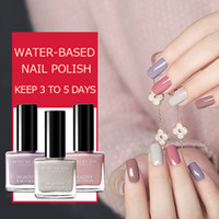 11ML Water- based Nail Polish Gel 30 Colors Fast Dry Red Shin...
