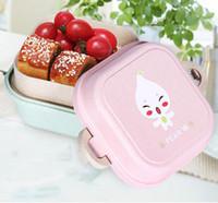 휴대용 밀크 짚으로 아이들 점심 도시락 식품 상자 식품 저장실