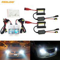 FEELDO Xenon HID Kit H1 / H3 / H7 / H8 / H10 / H11 / 9005/9006 DC 12V 35W Ксеноновая лампа Цифровой балластный свет фар автомобиля # 4470