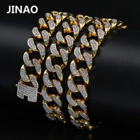 JINAO Hip Hop New Style Male Micro Pave Cubic Zircon Necklac...