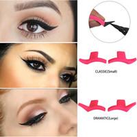 2019 Подводка для глаз Stamp Eyeshadow Cosmetic Easy To Makeup Wing Стиль Инструменты Подводка для глаз Штамповка Трафарет maquiagem