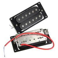 2 Adet (1 takım) Humbucker Çift Bobin Elektro Gitar Manyetikler + Çerçeve Vida