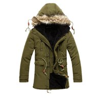 Hot Winter coat long coat male students comfortable padded p...