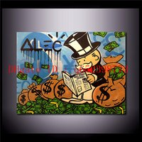 Alec Monopoly - 20, Home Decor HD Printed Modern Art Painting ...
