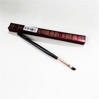 Charlotte_T Brush - Pincel sintético forma en ángulo pelo perfecto Cejas Pestañas Delineador - Herramienta de Blender maquillaje de belleza