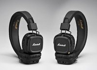 Marshall Major II 2.0 Bluetooth Cuffie DJ senza fili Cuffie con isolamento acustico a basso rumore per iPhone Samsung Cell Phone DHL Free