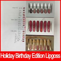 Hot Holiday Edition lip gloss Kit Birthday Edition Lipgloss ...