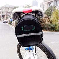 600D 2018 bolsa de bicicleta portátil a prueba de agua espalda tija de sillín bolsas bolsa bolsa paquete trasero MTB ciclismo accesorios de la bici Bisiklet Aksesuar