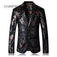 Costume noir pour homme Processus de gaufrage de haute qualité pour tissu