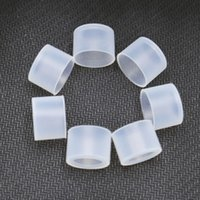 Transparent Disposable Drip Tips 11mm 510 Mouthpiece Soft Si...
