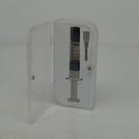 Confezione regalo di alta qualità Confezione di vetro trasparente siringa Iniettore di vetro Iniettore per carrelli Vape G2 Serbatoio con indicatore di misura