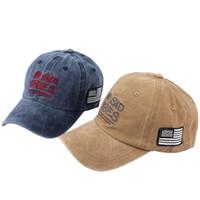 c59c9ec9a54 Wholesale vintage cowboy hats online - 200PCS Unisex Vintage Baseball Cap  Do old Wash Pure Cotton