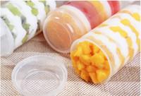 Yeni Çevre Kalp Yuvarlak Şekil Gıda Sınıfı Push Up Kek Pop Konteynerler Dondurma Kek Parti Süslemeleri DIY Plastik Kalıp